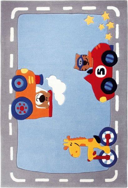 "Sigikid Teppich ""Happy Street"" traffic"