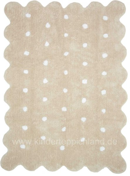 "Kinderteppich Lorena Canals ""Galleta"" creme"