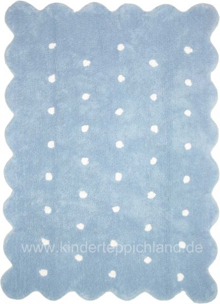 "Kinderteppich Lorena Canals ""Galleta"" blau"