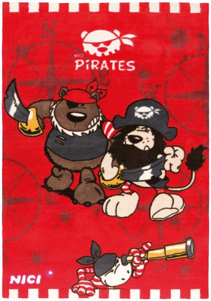 NICI Teppich Pirates