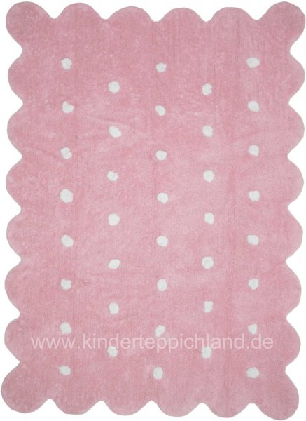 "Kinderteppich Lorena Canals ""Galleta"" rosa"