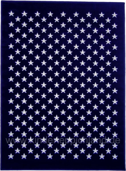 "Kinderteppich Lorena Canals ""Sky full of Stars"" navy"